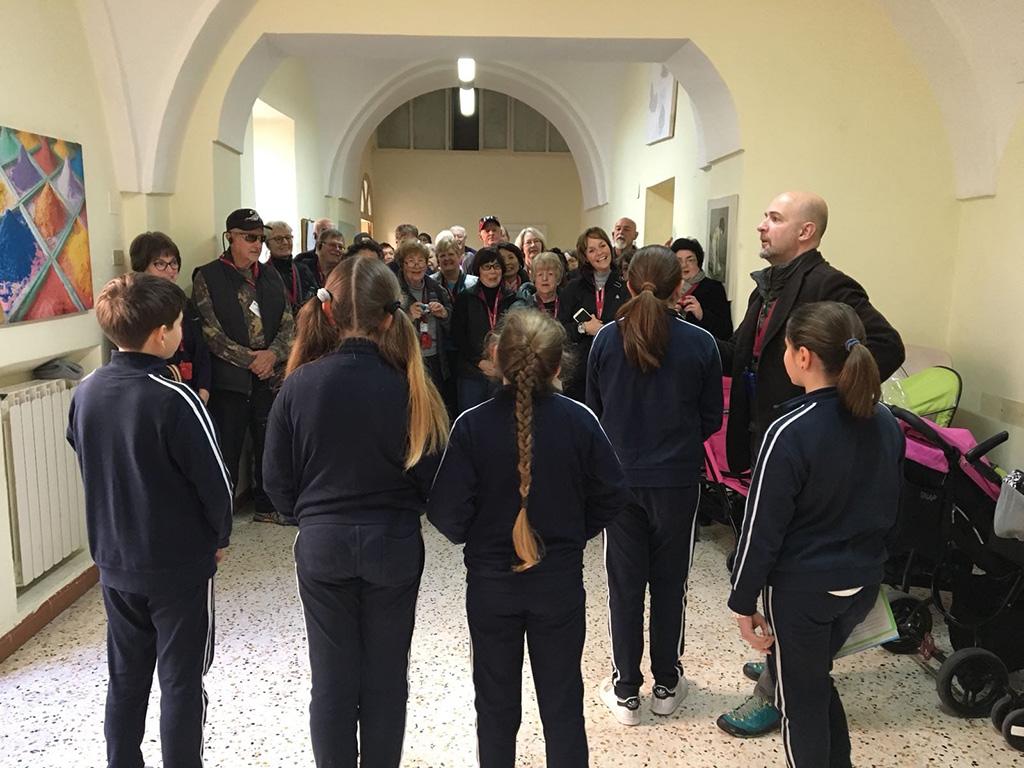 Alunni incontrano gli Americani - Santa Maria della Pietà Sorrento